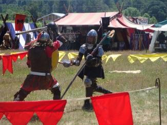 Gerald Fights in Defender's Tournament