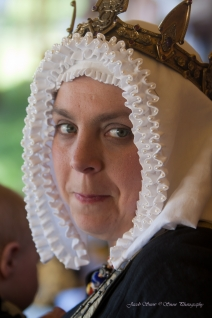 Queen Gwyneth at July Coronation