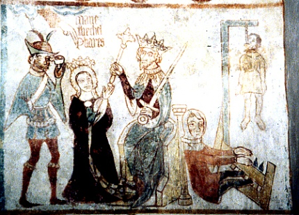 Queen Esther from Tirsted Church