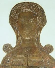 1370 - Funeral Brass Etching St Edmund Holme Pierrepont (Nottinghamshire), England 1370
